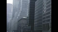 Vintage 16mm film, 1962, NJ/NY, NYC Manhattan b-roll Stock Footage