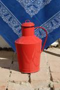 milk vessel - stock photo