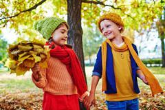 Bright autumn Stock Photos