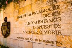 Stock Photo of SANTA CLARA, CUBA - SEPTEMBER 08, 2015: The Che Guevara Mausoleum in Santa Clara