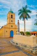 VINALES, CUBA - SEPTEMBER 13, 2015: Vinales is a small town and municipality in - stock photo