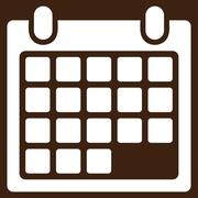 Calendar Appointment Vector Icon Stock Illustration