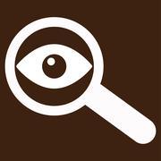 Investigate Vector Icon Stock Illustration