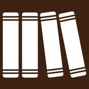 Library Books Vector Icon Stock Illustration