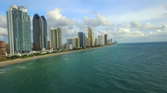 Aerial video Sunny Isles Beach Florida Stock Footage