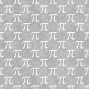 Stock Illustration of Gray and White Pi Symbol Design Tile Pattern Repeat Background