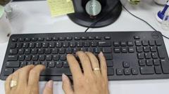 rated computer desktop - stock footage