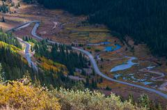 Independence Pass Colorado - stock photo