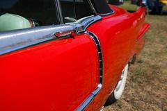 Classic Cadillac- Side Look Stock Photos