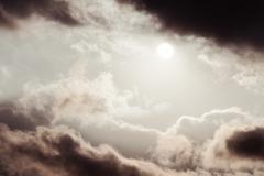 Stock Photo of Alicante sun cloud mono