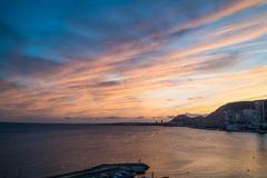 Stock Photo of Alicante orange blue