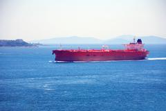 Ocean Vessel - stock photo