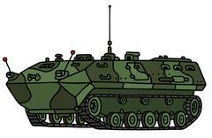 Track troop carrier Stock Illustration