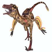 Troodon Reptile - stock illustration