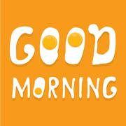 Fried Egg vector . good morning concept - stock illustration