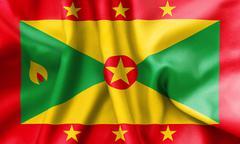 Grenada Flag Stock Illustration