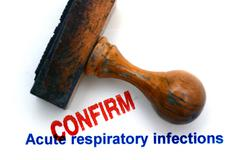 Acute respiratory infection - stock illustration