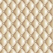Stock Illustration of Beige quilted texture