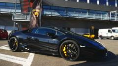Lamborghini Huracan Stock Footage