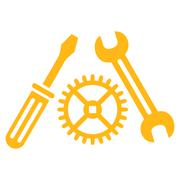 Tuning Service Icon - stock illustration
