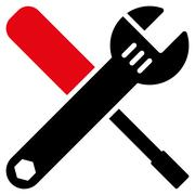 Tools Icon - stock illustration