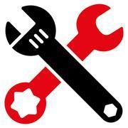 Wrench Icon - stock illustration