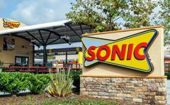 Sonic Drive-In Restaurant Stock Photos