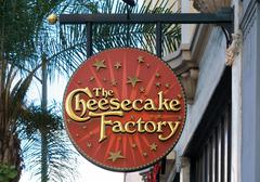 The Cheesecake Factory Sign and Logo Stock Photos