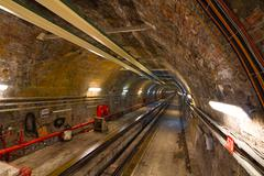 Old Tunnel Line from Karakoy to Istiklal Street, Istanbul Stock Photos