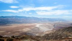 Death Valley Dante View time lapse Stock Footage