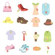 Stock Illustration of Apparel sale tags