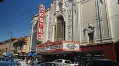 Stock Video Footage of Castro Theater Establishing Shot