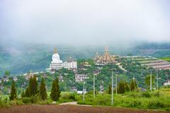 Wat Phra That Pha Son Kaew, PETCHRABOON province, THAILAND - stock photo