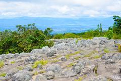Lan Hin Pum (natural phenomenon) at Phu Hin Rong Kla national park - stock photo
