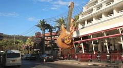 Hard Rock Cafe Phuket Stock Footage