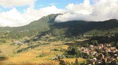 Yunnan Rice Terraces Stock Footage