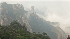 Morning Sanqingshan Mountains Stock Footage