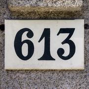 Number 613 Stock Photos