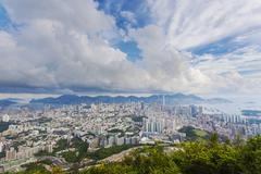 Hong Kong in the daytime - stock photo