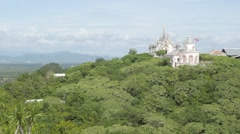 Phra Nakhon Khiri hilltop palace,Petchaburi,Thailand Stock Footage