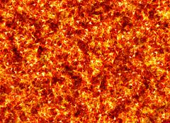 red burning fire texture - stock illustration