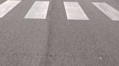 driving asphalt road - stock footage