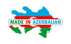 made in azerbaijan - stock illustration