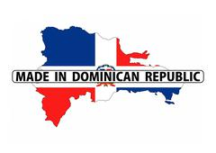 Stock Illustration of made in dominican republic