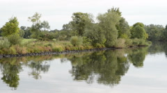 Landscape along the Havel River Stock Footage