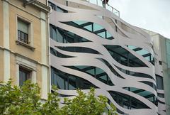 Stock Photo of Hotel Suites Avenue at Passeig de Gracia in Barcelona, Spain.
