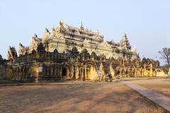 Bon Zan Monastery - Inwa Stock Photos