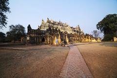 Bon Zan Monastery - Inwa - stock photo