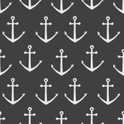 Stock Illustration of Vector anchor pattern
