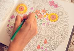 Paint Coloring Book Stock Photos